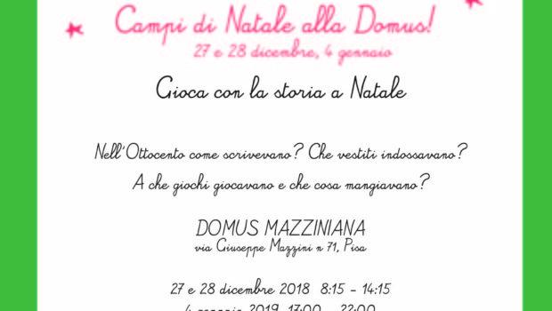 L'Associazione CorrelaMente, in collaborazione con la Domus Mazziniana organizza nel periodo festivo dei laboratori per […]