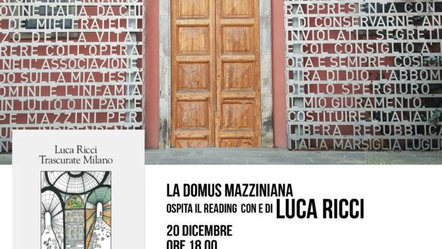 """«Con """"Trascurate Milano"""" Luca Ricci ci regala una delle sue novelle più riuscite. E noi […]"""