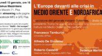 Proseguono gli incontri organizzati in collaborazione con l'Associazione Mazziniana Italiana, il Movimento Federalista Europeo, la […]