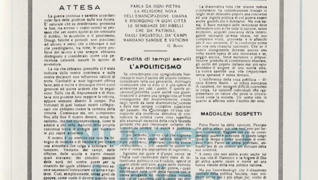In occasione del 75° anniversario della Liberazione la Domus Mazziniana mette a disposizione di tutti […]